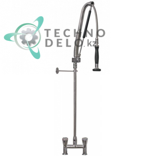 Душ ручной для мойки GEV PREMIUM PLUS AUTOMATIC Standard 3/4-1/2 с двухчастным краном-смесителем и газовой пружиной