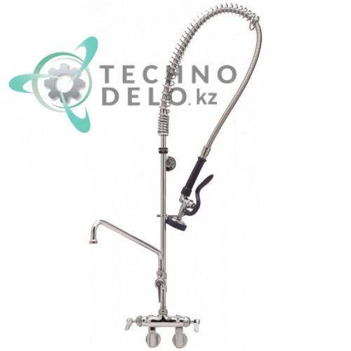 Душ ручной для мойки посуды T&S кран-смеситель с поворотным изливом 15,89 л/мин высота 955мм подключение 1/2