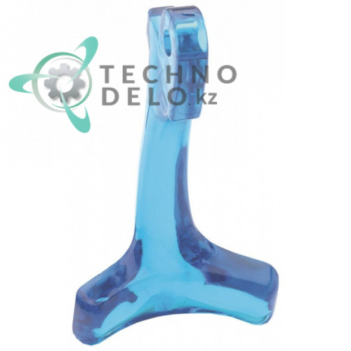 Рычаг 001145-45 1145.45 пластмассовый голубой для крана кулера воды T&S