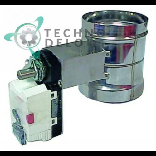 Воздушный клапан в сборе Gruner 1.5 ВТ 147480.00 печи MIWE Roll In