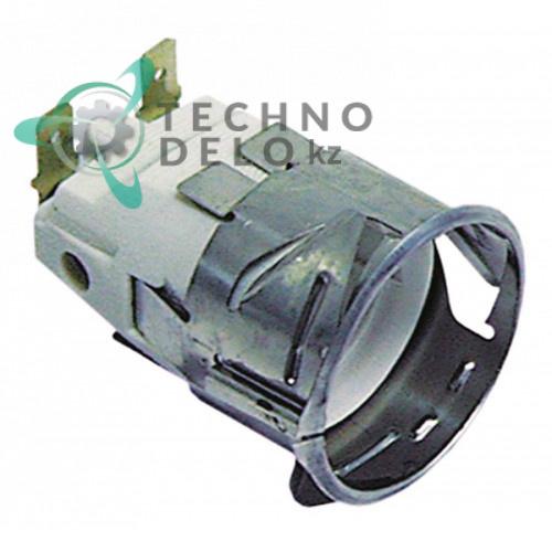 Патрон E14 для лампы, 0C5508, POR021 печи Bertos, Cuppone, Zanussi, Apach и др.
